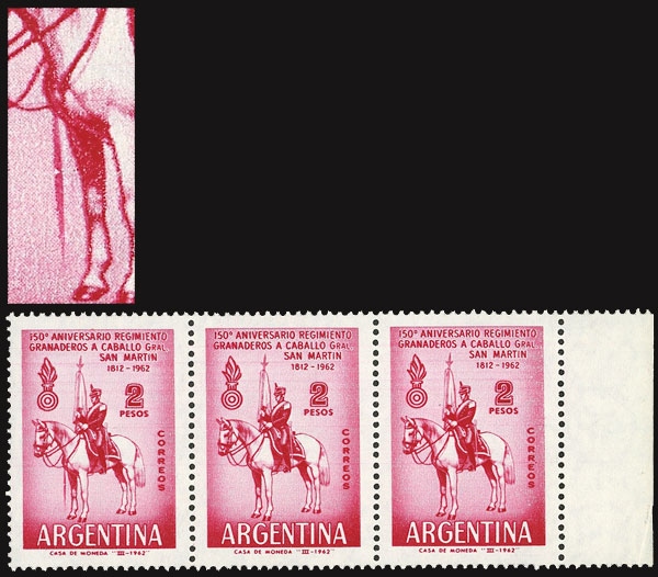 Lot 613 - Argentina general issues -  Guillermo Jalil - Philatino Auction # 2132 ARGENTINA: