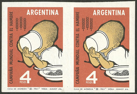 Lot 619 - Argentina general issues -  Guillermo Jalil - Philatino Auction # 2132 ARGENTINA: