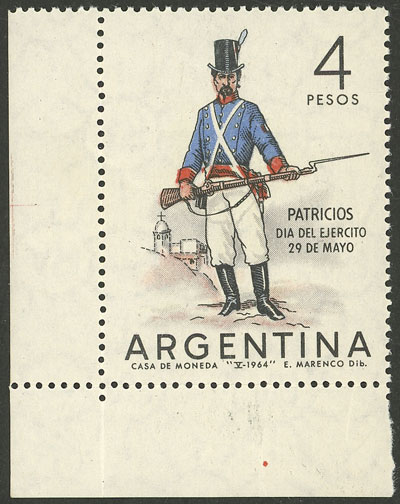 Lot 630 - Argentina general issues -  Guillermo Jalil - Philatino Auction # 2132 ARGENTINA: