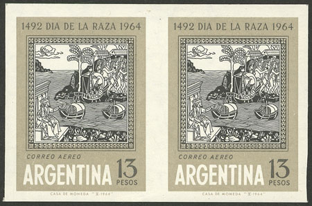 Lot 631 - Argentina general issues -  Guillermo Jalil - Philatino Auction # 2132 ARGENTINA: