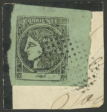 Lot 45 - Argentina corrientes -  Guillermo Jalil - Philatino Auction # 2134 ARGENTINA: Fun auction including rarities of all periods