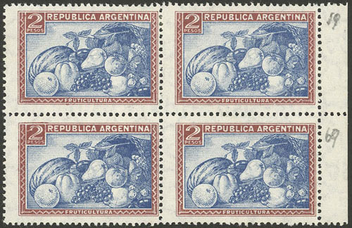 Lot 763 - Argentina general issues -  Guillermo Jalil - Philatino Auction # 2134 ARGENTINA: Fun auction including rarities of all periods
