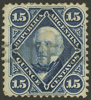Lot 166 - Argentina general issues -  Guillermo Jalil - Philatino Auction # 2134 ARGENTINA: Fun auction including rarities of all periods