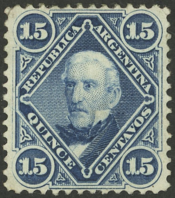 Lot 168 - Argentina general issues -  Guillermo Jalil - Philatino Auction # 2134 ARGENTINA: Fun auction including rarities of all periods