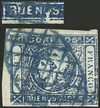 Lot 28 - Argentina cabecitas -  Guillermo Jalil - Philatino Auction # 2134 ARGENTINA: Fun auction including rarities of all periods