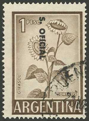 Lot 153 - Argentina official stamps -  Guillermo Jalil - Philatino Auction # 2135 ARGENTINA - OFFICIAL STAMPS: Selection of good lots!