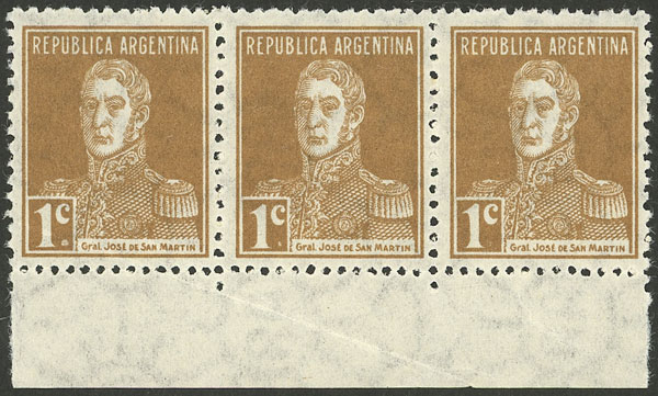 Lot 45 - Argentina general issues -  Guillermo Jalil - Philatino Auction # 2136 ARGENTINA: Selection of good pieces of the Tumarkin collection (part I)