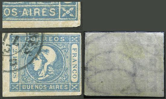 Lot 8 - Argentina cabecitas -  Guillermo Jalil - Philatino Auction # 2137 ARGENTINA: Special October auction
