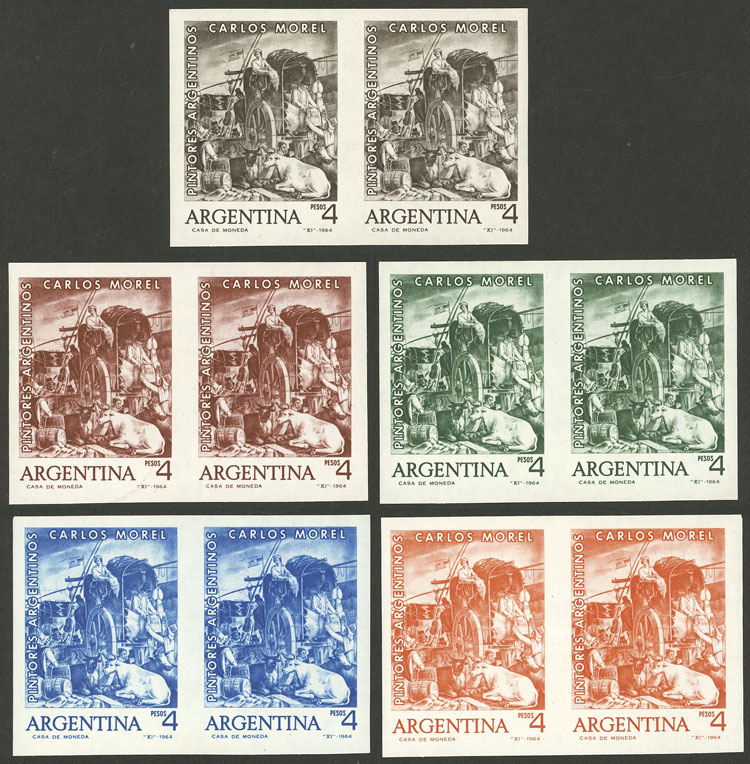 Lot 152 - Argentina general issues -  Guillermo Jalil - Philatino Auction # 2137 ARGENTINA: Special October auction