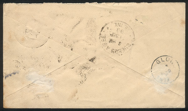 Lot 202 - Argentina postal history -  Guillermo Jalil - Philatino Auction # 2137 ARGENTINA: Special October auction