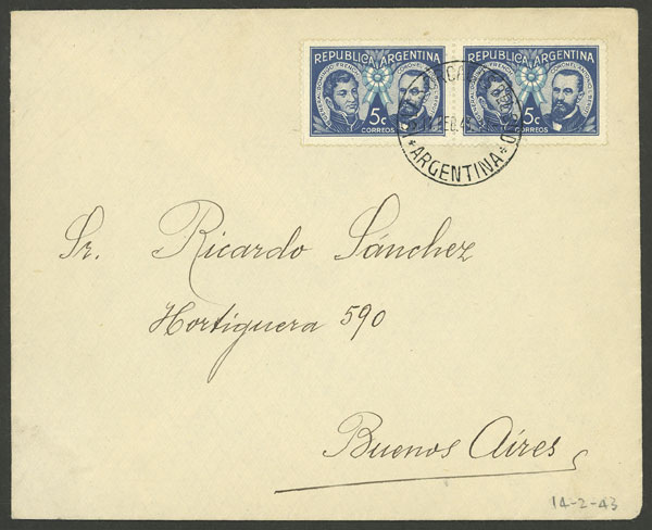 Lot 8 - ARGENTINE ANTARCTICA - ORCADAS postal history -  Guillermo Jalil - Philatino Auction # 2138 ARGENTINA:
