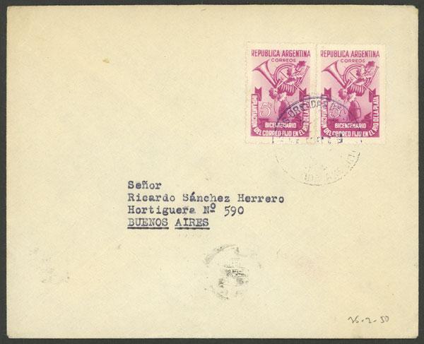 Lot 17 - ARGENTINE ANTARCTICA - ORCADAS postal history -  Guillermo Jalil - Philatino Auction # 2138 ARGENTINA: