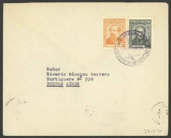 Lot 15 - ARGENTINE ANTARCTICA - ORCADAS postal history -  Guillermo Jalil - Philatino Auction # 2138 ARGENTINA: