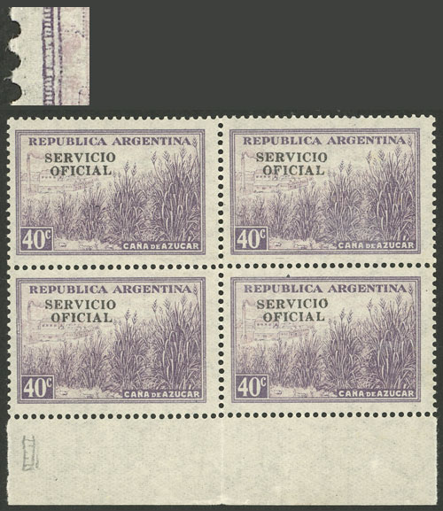 Lot 822 - Argentina official stamps -  Guillermo Jalil - Philatino Auction # 2138 ARGENTINA: