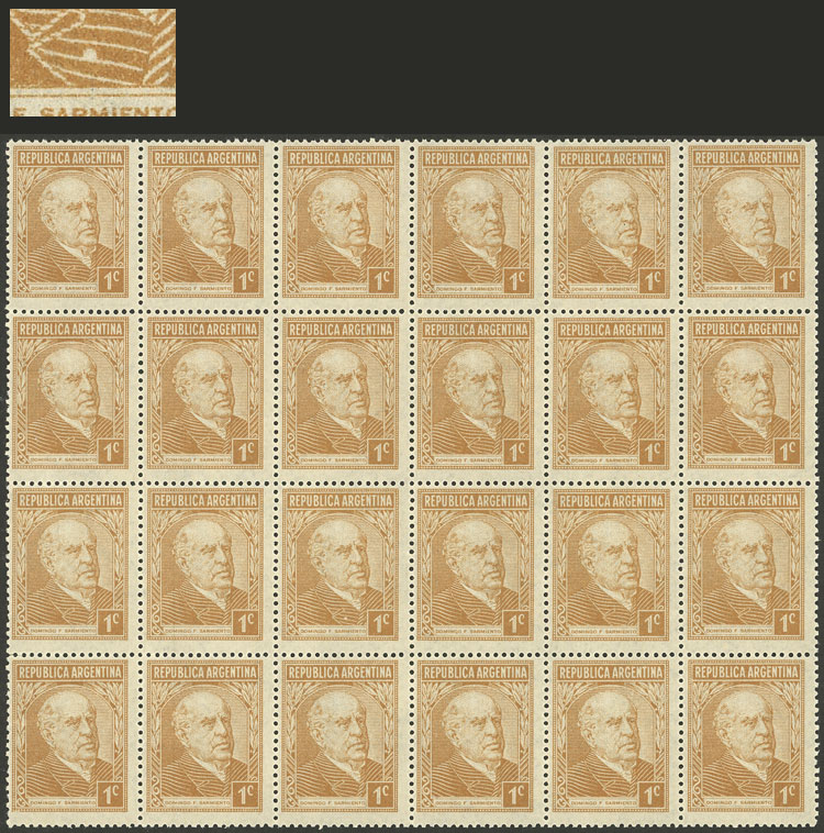 Lot 328 - Argentina general issues -  Guillermo Jalil - Philatino Auction # 2138 ARGENTINA: