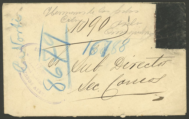 Lot 939 - Argentina Postal stationery -  Guillermo Jalil - Philatino Auction # 2138 ARGENTINA: