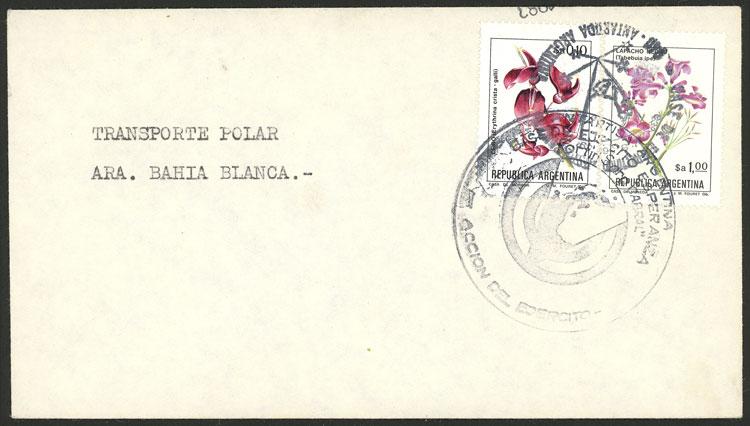 Lot 6 - argentine antarctica postal history -  Guillermo Jalil - Philatino Auction # 2138 ARGENTINA: