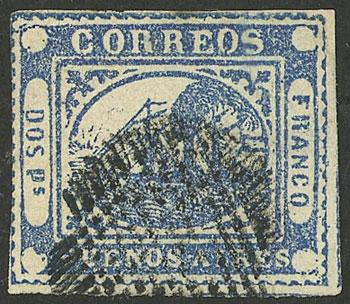 Lot 2 - Argentina barquitos -  Guillermo Jalil - Philatino Auction # 2139 ARGENTINA: Mini October sale