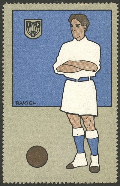 Lot 16 - topic football cinderellas -  Guillermo Jalil - Philatino Auction # 2141 WORLDWIDE + ARGENTINA: General November auction