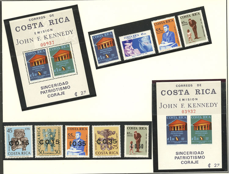 Lot 23 - TOPIC KENNEDY Lots and Collections -  Guillermo Jalil - Philatino Auction # 2141 WORLDWIDE + ARGENTINA: General November auction