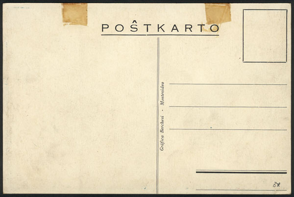 Lot 9 - topic esperanto postcards -  Guillermo Jalil - Philatino Auction # 2141 WORLDWIDE + ARGENTINA: General November auction